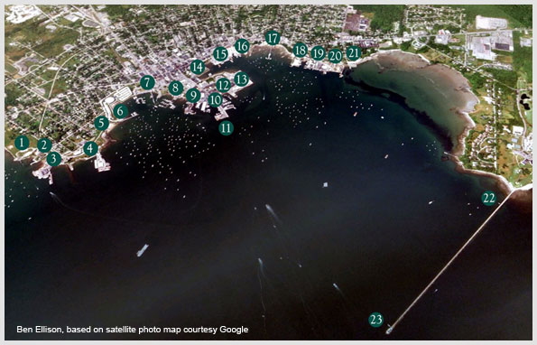 Rockland Harbor Satellite